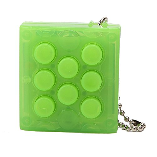Electronic Bubble Wrap Keychain Novelty Toy Gifts Keychain Gadget Bubble Pop Keyring (Sound Poppers compare prices)