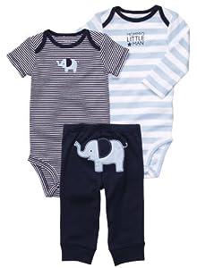 Carter's Boys 3-piece Bodysuit Pants Set from Carters