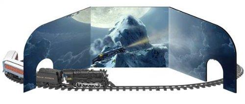 Lionel Trains Polar Express 10th Anniversary G-Gauge Diorama
