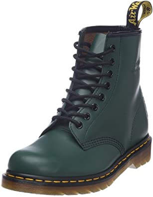 Dr. Martens 1460 Smooth 59 Last Green, Unisex Adults' Boots, Green, 3 UK