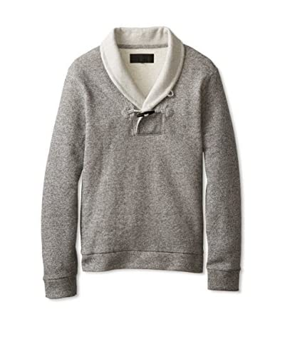 Zachary Prell Men's Clinton French Terry Sweater with Toggle Closure