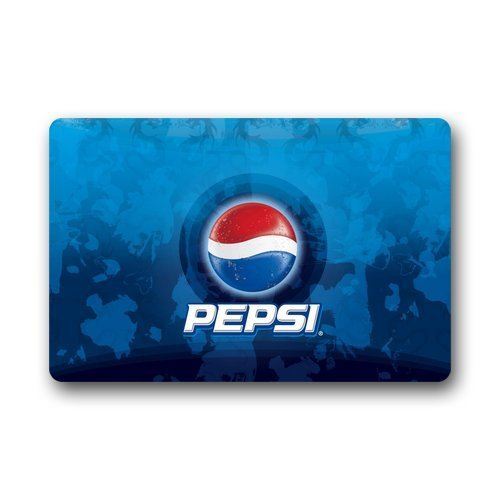 Shirleyu0027s Door Mats Decorative Door Mat Pepsi Blue Nation Custom Non Slip  Indoor/outdoor Doormat