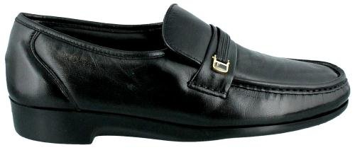 Florsheim Men's Riva Slip-On,Black,12 EEE
