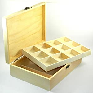 Design your own wood box diy unfinished sewing for Design your own wooden ring
