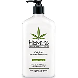 Hempz Herbal Moisturizer, 17-Fluid Ounce (500 ml) (Package may vary)