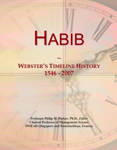 habib-websters-timeline-history-1546-2007
