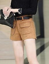 ZY Mujer Solid Rojo/Beige/Gris Pantalones Cortos Pantalones, Casual
