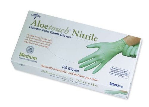 Exam Gloves, Chemo, Nitrile, Aloe , PF, Txt, Small
