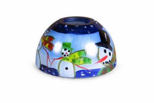Candle Warmers Etc. Aurora Lamp Shade, Winter Wonderland