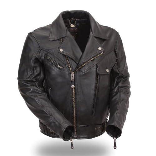 First MFG XPERT Performance® Mens Brando Motorcycle Jacket. Full Featured. XPM286NKDZ