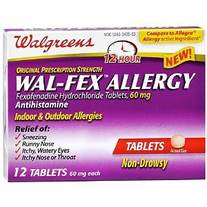 Generic for fexofenadine
