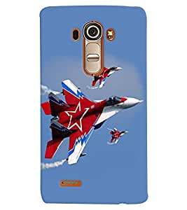 printtech Fighter Plan Back Case Cover for LG G4::LG G4 H815