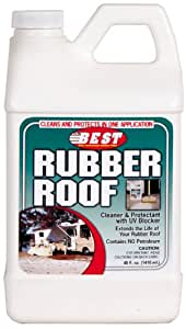 B.E.S.T. 55048 Rubber Roof Cleaner & Protectant Bottle - 48 oz.