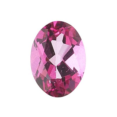 0.8 Cts of 7x5 mm AA Oval Loose Mystic Pink Topaz