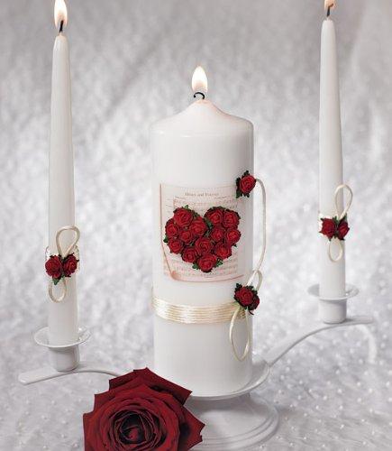Romantic Red Wedding Unity