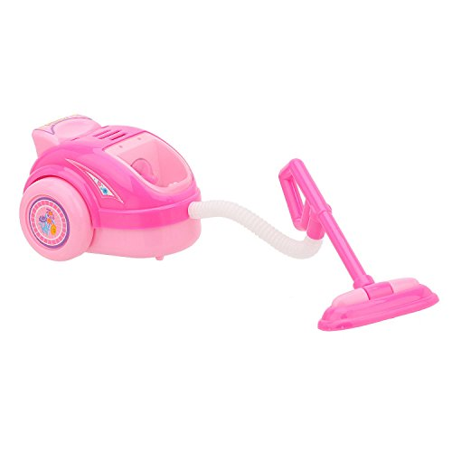 Lovely Pink Mini Vacuum Cleaner Pretend Play Home Appliance Toy For Baby Kids (Mini Toy Vacuum compare prices)
