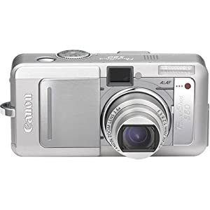 Canon Powershot S60 5MP Digital Camera with 3.6x Optical Zoom