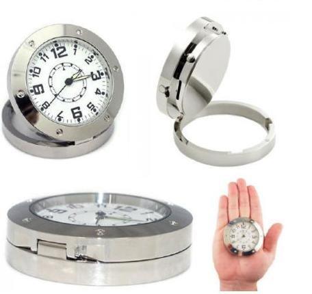 Mini Dv DVR Camera Desk Clock Motion Detection Watch