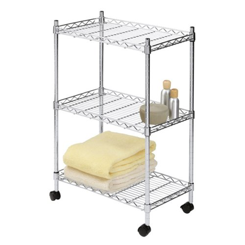 3-Tier Rolling Cart