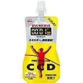 グリコ パワープロダクション ワンセコンドCCD ジェルドリンク クリアレモン風味 1個 (86g) 6個入り