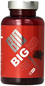 Bio-Synergy Big Red Superba Krill Oil Omega 3 Pills - Pack of 60 Capsules