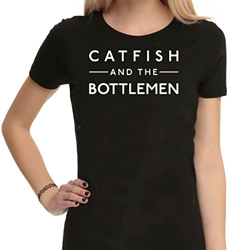 Catfish e la fascia bottlemen - Maglietta nero unisex T Shirt Black Large