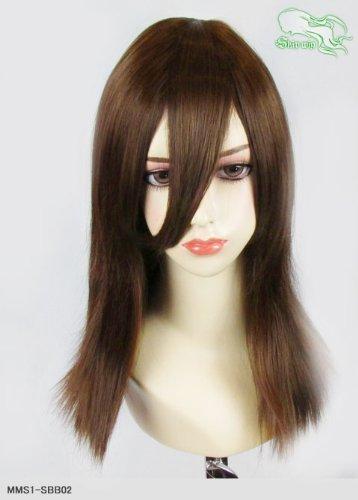 スキップウィッグ 魅せる シャープ 小顔に特化したコスプレアレンジウィッグ フェアリーミディ マロングラッセ