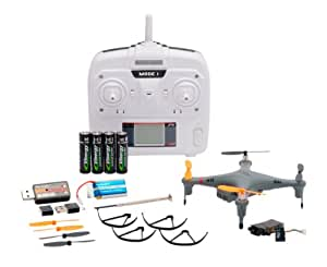Nine Eagles GALAXY VISITOR2 camera SD card with RTF Kit Black (2.4GHz 4ch Multi-Copter) (japan import)