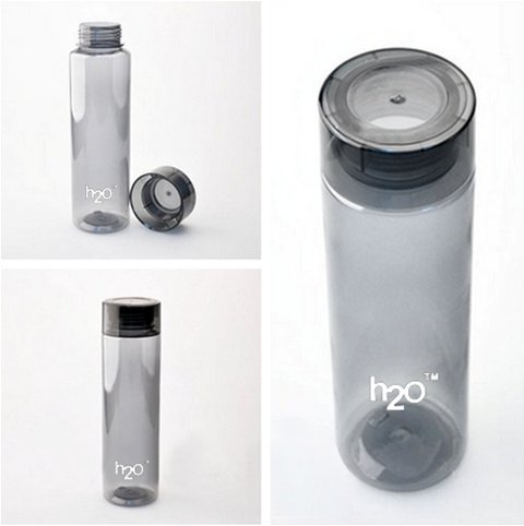 fb9c64ade7 Buy H20 Water Bottle - Stylish and Elegant Transparent Water Bottle Made  with Hi-Quality BPA-Free Plastic (800 ml / 1000 ml) on Amazon |  PaisaWapas.com
