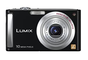 Panasonic Lumix DMC-FS5P-K 10.1MP Digital Camera with 4x Wide Angle MEGA Optical Image Stabilized Zoom (Black)