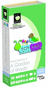 Cricut Classmate Cartridge, Word Builders 2 A Garden of Words
