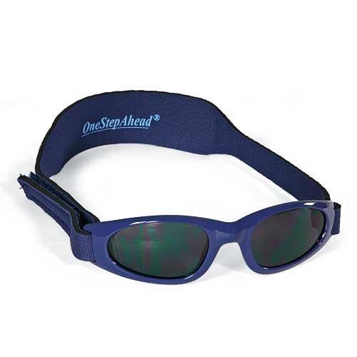 Sun Smarties Wrap Shades Sunglasses BLUE INFANT (0-24 MOS.)