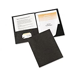 Avery : Paper Two-Pocket Report Cover, Tang Clip, Letter, 1/2\