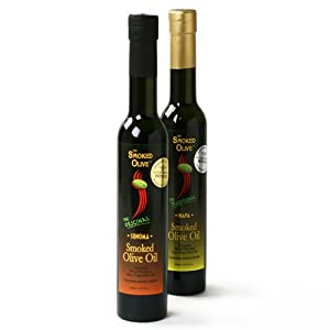 Smoked Extra Virgin Olive Oil - Napa (200 ml)