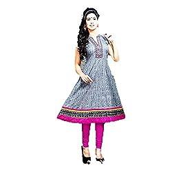 Kaya Women's Cotton Kurti (004KUCO011_Multi-Coloured_X-Large)