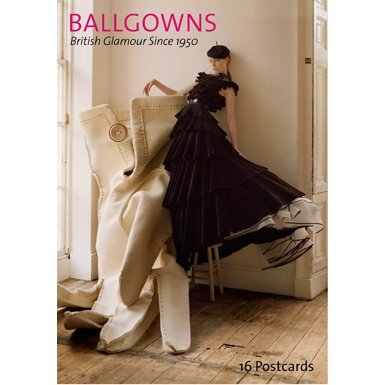 V&A British Ballgowns Postcard Book