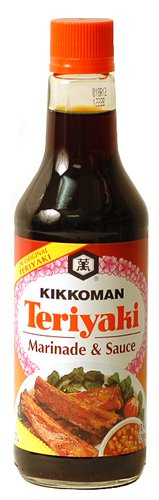 ... the brand of Teriyaki Sauce that I like to use to marinate the steaks