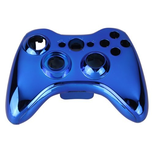 abcGOODefg® Full Housing Shell Case for XBOX 360 Wireless Controller Chrome Blue (Xbox 360 Controller Blue Chrome compare prices)