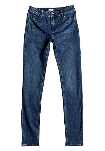 Roxy Time J Pant Bsbw, Color: Dark Medium Wash, Size: 27