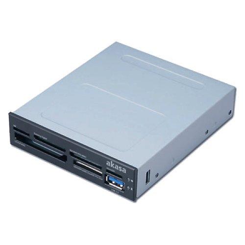 Akasa AK-ICR-07 Interner 6-Port Card Reader mit USB 3.0, 8,89cm (3,5″)