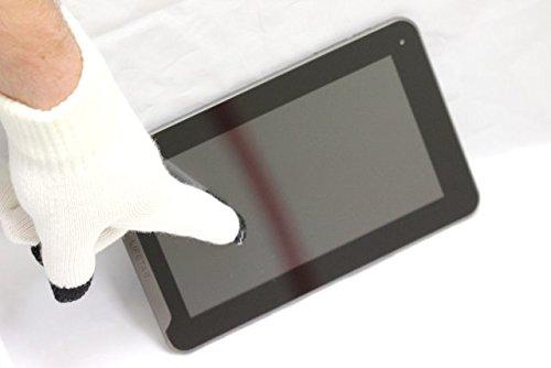 Navitech Wieße Touch Screen Handschuhe Für Alle Smart Phones Und Tablets wie das Sony Xperia X10 & 10i, sony xperia x10 mini, sony xperia pro, sony xperia x10 mini pro, Sony Ericsson Xperia Neo, Sony Ericsson Xperia Arc, Sony Ericsson Xperia