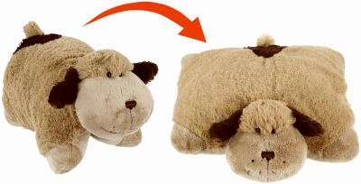 As Seen On TV PPDOG-MC4 Dog Pillow Pet Plush Folding Stuffed Animal (Pack of 4)