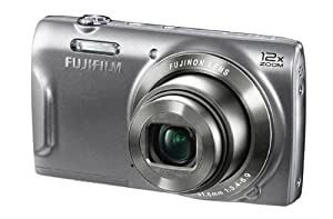 Fujifilm FinePix T550 16MP Digital Camera with 3-Inch LCD (Silver)