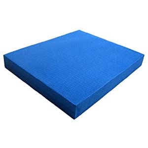 "Yes4All Blue Balance Pad - Special sales - Choose between X-Large (19x15x2.5"") & Large (15.5x13.5x2"") - Fast Shipping from Yes4All"