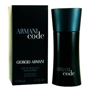Giorgio Armani Code Eau de Toilette for Men - 50 ml