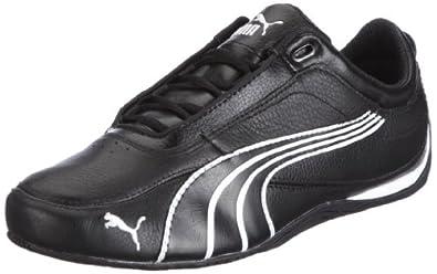 Puma Drift Cat 4 304026, Unisex-Erwachsene Sneaker, Schwarz (black-white 07), EU 40.5 (UK 7) (US 8)