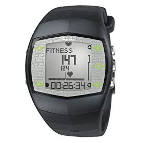 Polar FT40 Men's Heart Rate Monitor Watch (Grey)
