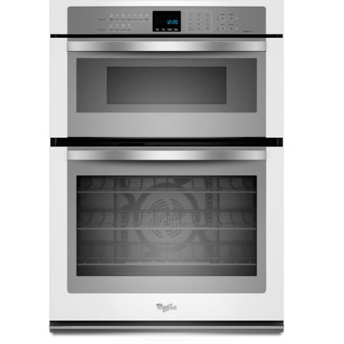 """Whirlpool Woc95Ec0Ah 30"""" White Electric Combination Wall Oven - Convection"""