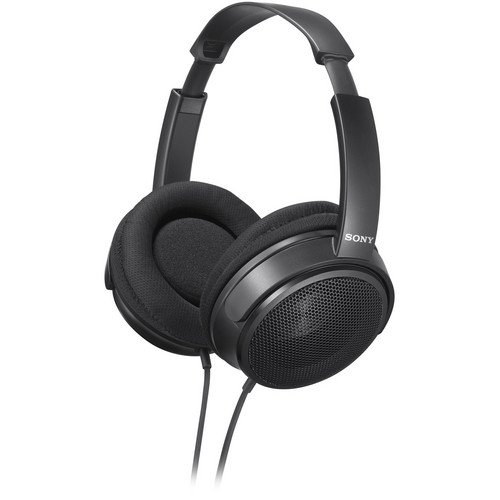 Sony Over The Ear Stereo Headphones, Super Lightweight With Wide Adjustable Headband, Supra-Aural Ear-Cup With Open Air Design, And Flexible Ear Fit Mechanism, Large 40Mm Drivers, A 3.0 Meter, Y-Type Cable Lets You Connect To Various Audio Devices, Comput