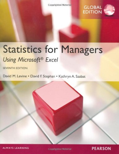 Statistics for Managers using MS Excel, Global Edition